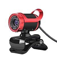 SUN HUIJIE コンピューターカメラ HD ビデオ USB ケーブル ウェブカメラ 内蔵 吸音マイク