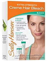 (3 Pack) SALLY HANSEN Extra Strength Creme Hair Bleach for Face & Body - SH2010 (並行輸入品)