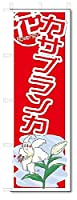 のぼり のぼり旗 カサブランカ (W600×H1800)