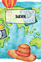 Sudan: Ruled Travel Diary Notebook or Journey  Journal - Lined Trip Pocketbook for Men and Women with Lines