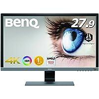 BenQ ゲーミングモニター ディスプレイ EL2870U (27.9インチ/4K/HDR/TN/1ms/FreeSync対応/HDMI×2/DP1.4/スピーカー/アイケア機能B.I.+)