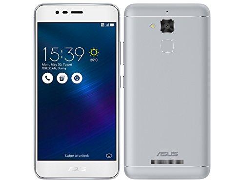 ASUS TeK ZC520TL-SL16 ASUS ZenFone 3 Max (大容量バッテリー搭載/5.2インチ) シルバー