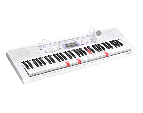 カシオ電子キーボード61標準鍵光ナビゲーションキーボードLK-122