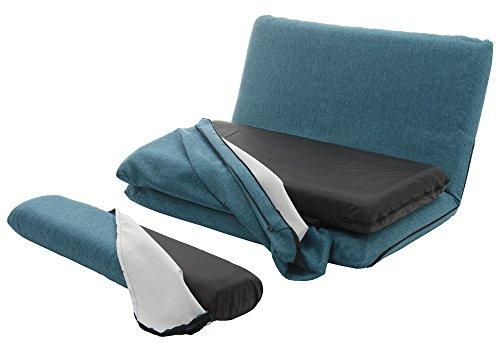 セルタン カバーリング ソファベッド 「MORIITO」タスクブルー DMT3-585BL