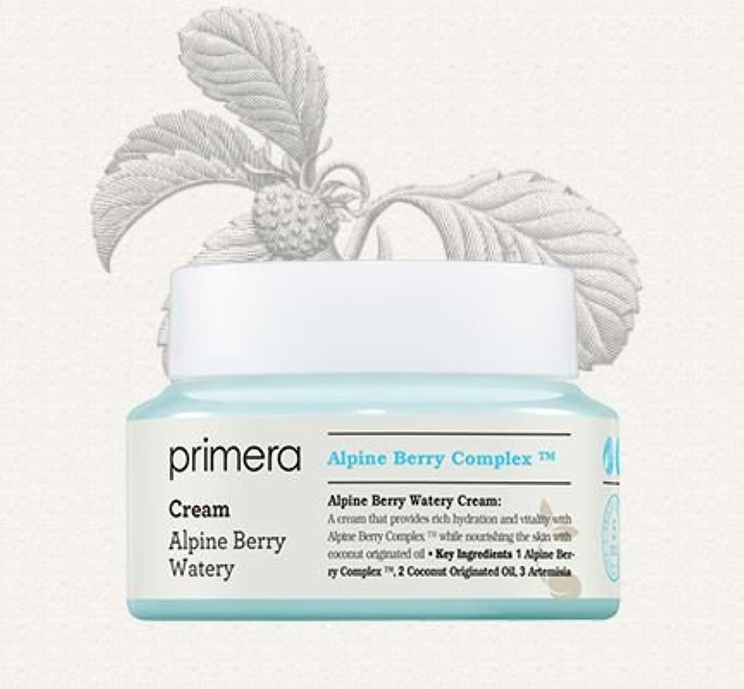 栄養チャンピオン違法[Primera] Alpine Berry Watery Cream 50ml/[プリメーラ] アルパインベリーウォーターリークリーム50ml [並行輸入品]