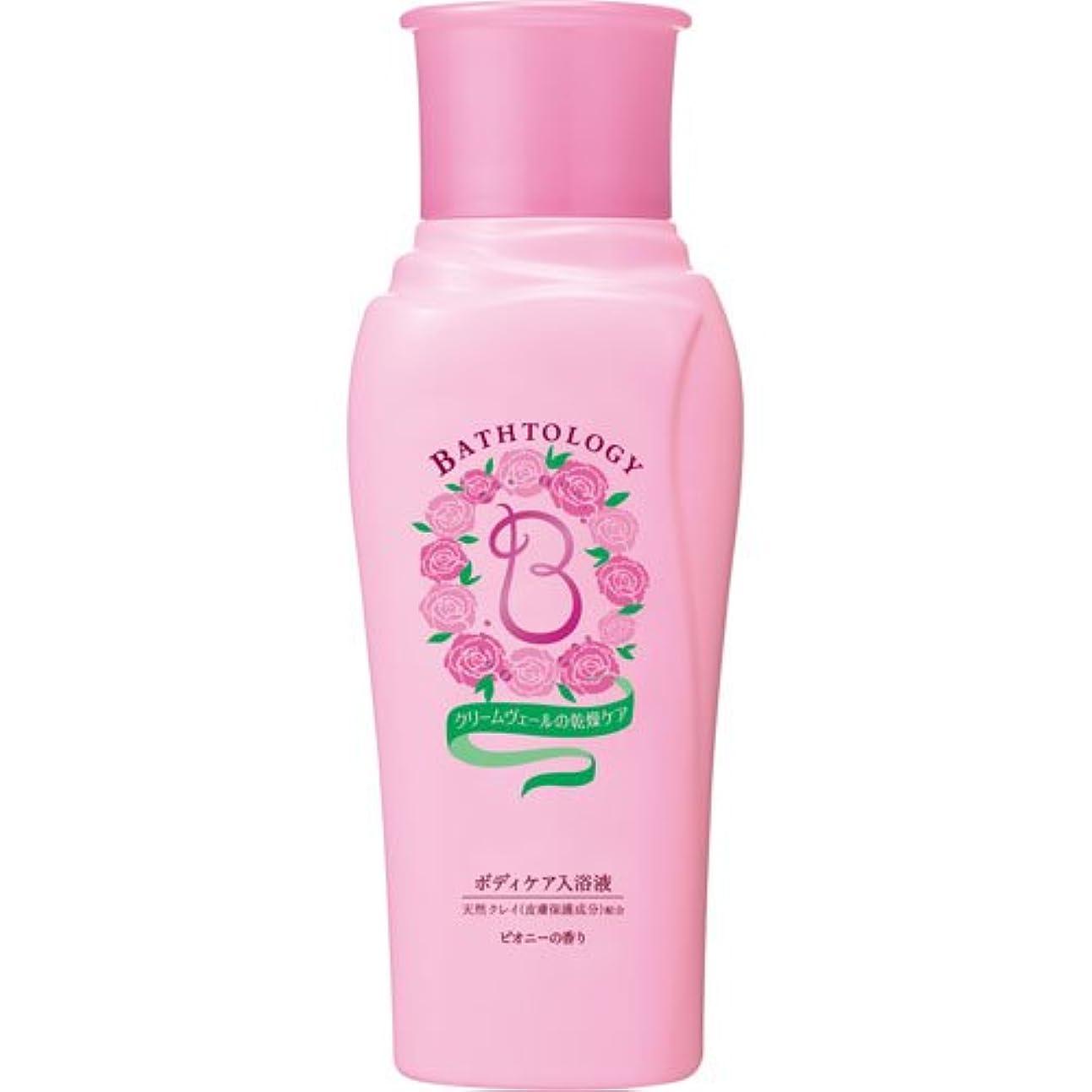 BATHTOLOGY ボディケア入浴液 ピオニーの香り 本体 450mL