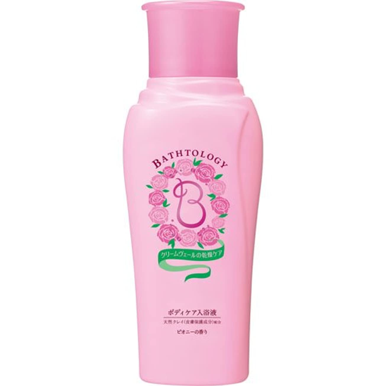 ちょうつがい連想条約BATHTOLOGY ボディケア入浴液 ピオニーの香り 本体 450mL