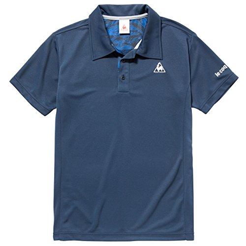 (ルコックスポルティフ) le coq sportif トレーニング 襟付き半袖シャツ QB-711171 [メンズ] NVY XO