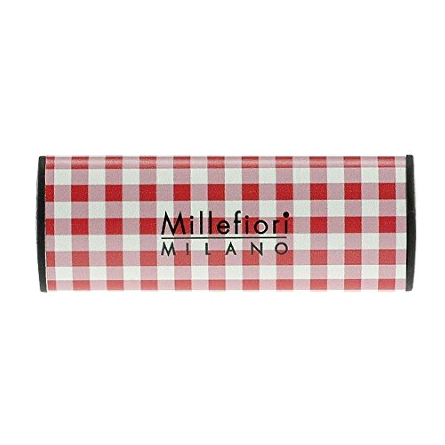 飾り羽証人争いMillefiori カーエアフレッシュナー CHECK グレープフルーツ CDIF-F-002