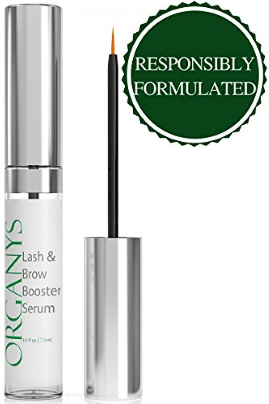 二週間参照横Organyc Eyelash & Eyebrow Growth Serum (High Potency) Grows Longer, Fuller, Thicker Lashes & Brows in 60 days!...