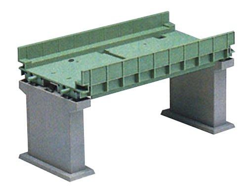 TOMIX Nゲージ 3068 複線ガーダー橋IIセット (緑) (複線PC橋脚・2本付)
