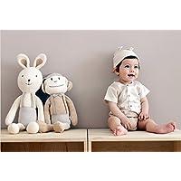 [Organic Shop] 100% Organic Cotton Baby Stuffed Animal Doll (Big Monkey Doll) by Bless Nature