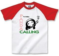 まめた本舗 【Tシャツ】PANDA CALLING (L)