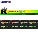 ヤマシタ(YAMASHITA) ルアー エギ エギ王 K HF 3号 KG01 GLO  グローオレンジ