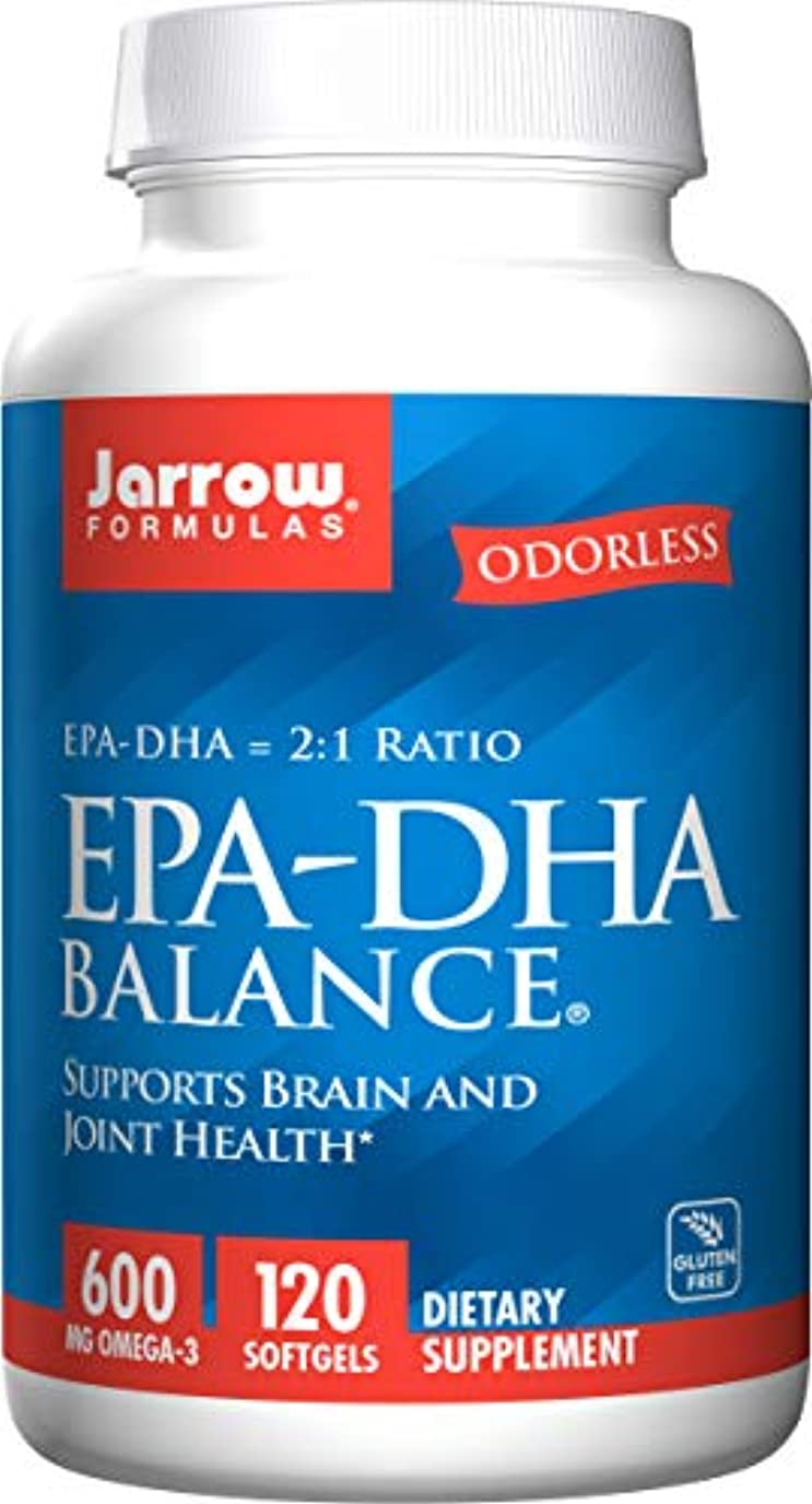 程度上院議員事故EPA-DHAバランス 120Softgels