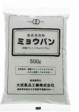 ミョウバン 500g