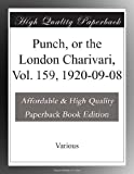 Punch, or the London Charivari, Vol. 159, 1920-09-08
