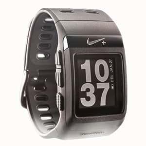 【日本語説明書つき】 Nike+ SportWatch GPS Powered by TomTom Black (オールブラック) 【フットセンサー付属】【Amazonと同等保証有】 並行輸入品