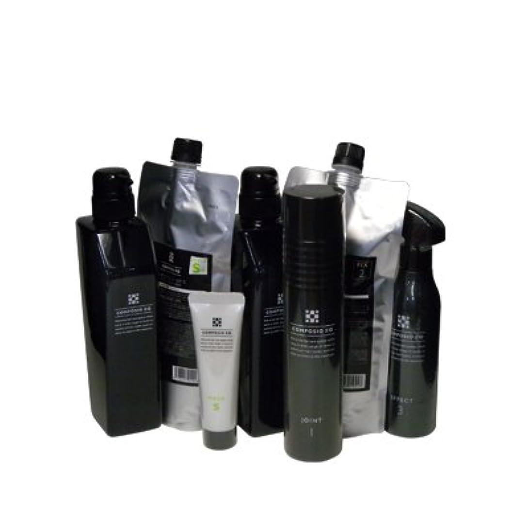 役に立つ爆発するテープデミ コンポジオ EQ フルセットS(ジョイント+フィックス+エフェクト+シールドS+マスクS)
