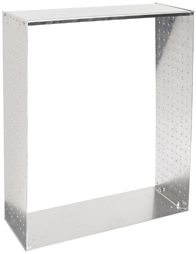 BUD Industries RM-14223 Aluminum Rackmount Chassis, 19 Width x 7 Height x 22 Depth, Natural Finish by BUD Industries