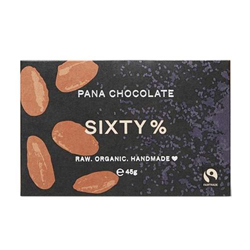 Pana Chocolate パナチョコレート 有機ローチョコレート【SIXTY 60%】|オーガニック ローフード ヴィーガン ローチョコレート オーストラリア 正規輸入品