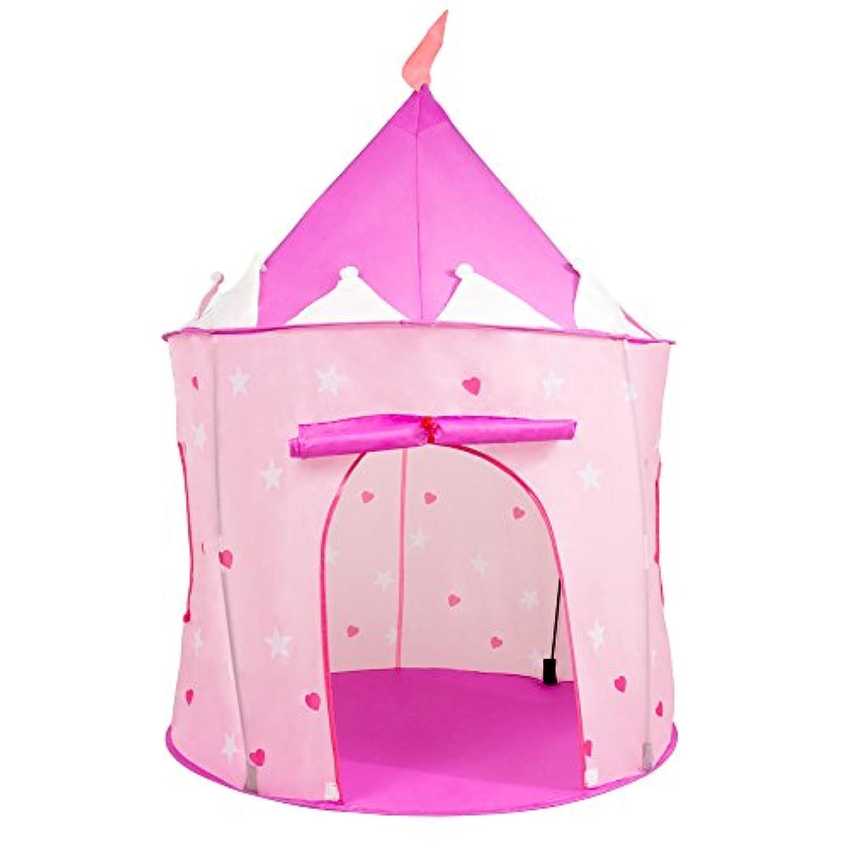 ピンクプリンセスプレイ城Pop Up Tent – Includes Bonus Carrying Case 。