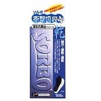 ソルボ衝撃吸収+乾インソール 足ムレを緩和する Lサイズ(26.5~27.5cm)ブルー