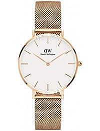 Daniel Wellington (ダニエル ウェリントン) 腕時計 CLASSIC PETITE 32mm [並行輸入品] (ローズゴールド+ホワイト)