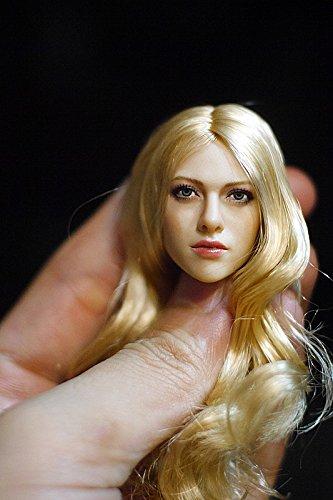 (KUMIK) 1/6 ヘッド パーツ ガール 女性 頭 塗装済 アクセサリアクションフィギュア 素体用