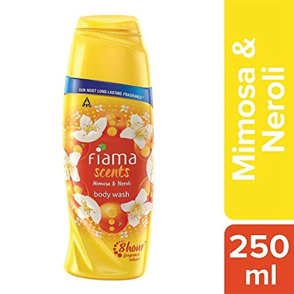 純粋にスライム賭けFiama Scents Mimosa and Neroli Body Wash, 250 ml