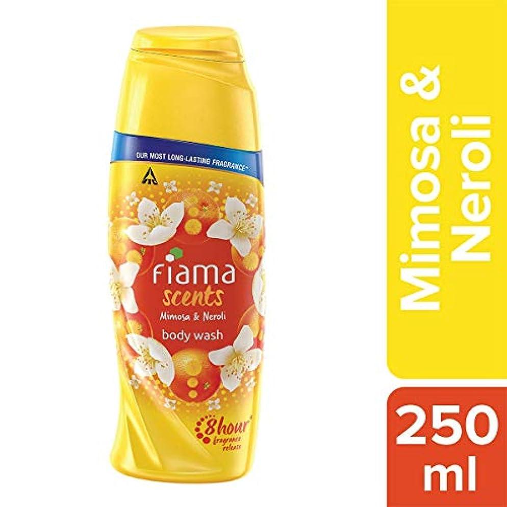 超越する飾る習熟度Fiama Scents Mimosa and Neroli Body Wash, 250 ml