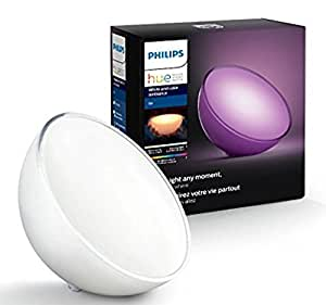 Philips Hue Go Portable Dimmable LED Smart Light Table Lamp (Compatible with Amazon Alexa, Apple HomeKit, and Google Assistant) [並行輸入品]