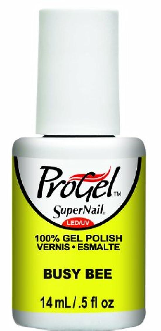 無視できるアッティカス副詞SuperNail ProGel Gel Polish - Busy Bee - 0.5oz / 14ml