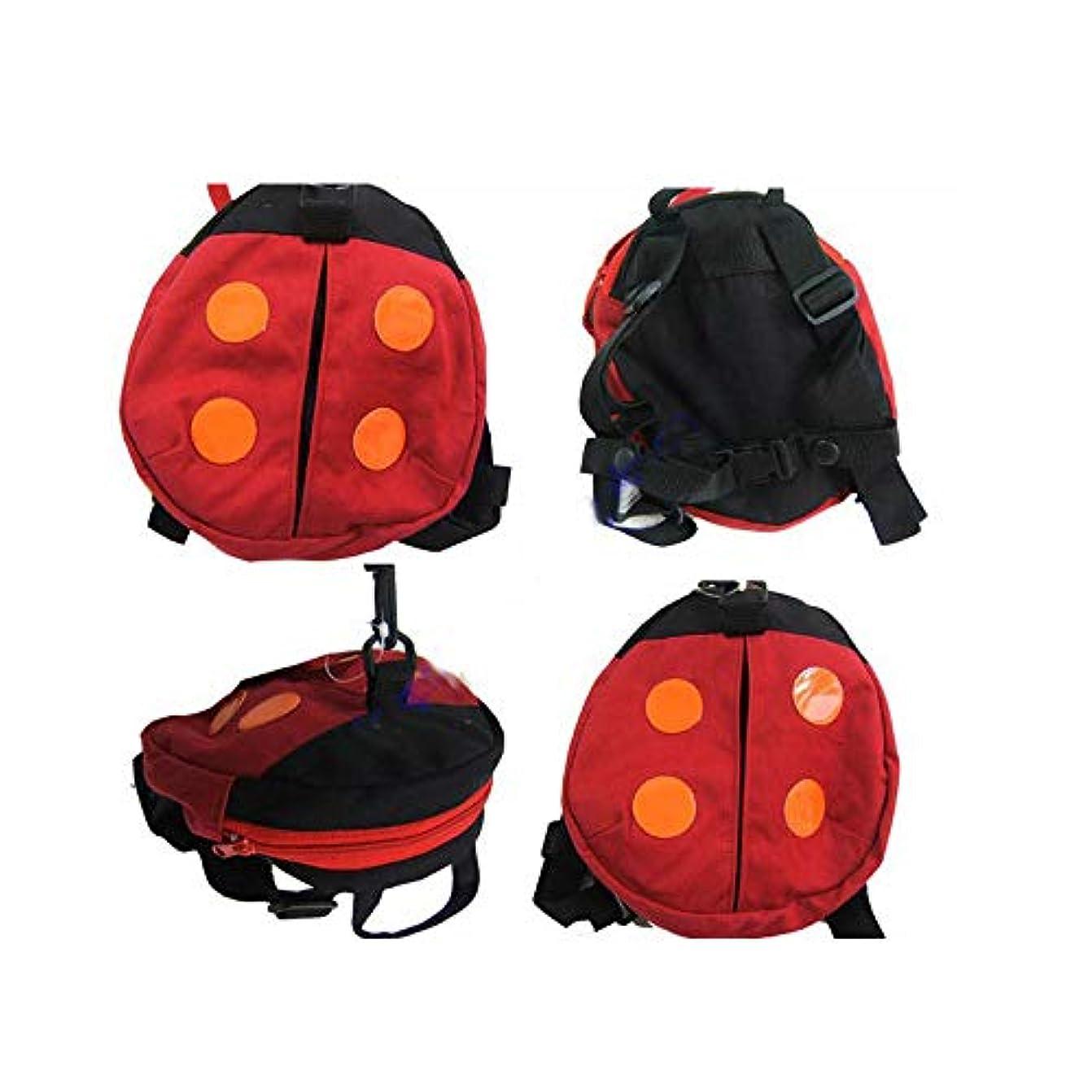 ラオス人カタログあなたが良くなりますAmyou 赤ちゃんアンチロストバッグ幼児安全バックパック付きストラップバッグアンチテイクアウェイ小さなリュックサック子供のパック安全テザーベルトサック素敵なテントウムシデザイン