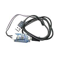 P Prettyia J-リンクOB ARMエミュレータデバッガ USBケーブル付き プログラマダウンローダ