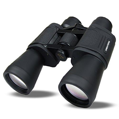 ORIENTERS 双眼鏡 20倍 20×50 高倍率 広視野 高透過 昼夜兼用 コンサート スポーツ観戦 アウトドア 観劇用 様々なシーンで