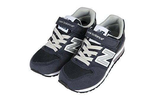 (ニューバランス)new balance 子供 スニーカー/シューズ靴 24cm ネイビー
