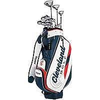 クリーブランドゴルフ(Cleveland GOLF) クラブセット クリーブランド パッケージセット (クラブ11本セット・キャディバッグ付) アイアン:スチールシャフト スチール メンズ 右 フレックス:S