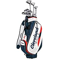 Cleveland GOLF(クリーブランドゴルフ) クラブセット クリーブランド パッケージセット (11本セット・キャディバッグ付) アイアン:スチールシャフト スチール メンズ 右 フレックス:S