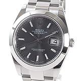 [ロレックス]ROLEX 腕時計 デイトジャスト41 126300 ランダム 中古[1319132] ランダム ダークロジウム 付属:国際保証書 タグ