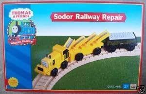 Thomas トーマス & Friends フレンズ Wooden Railway - Sodor Railway Repair [並行輸入品]