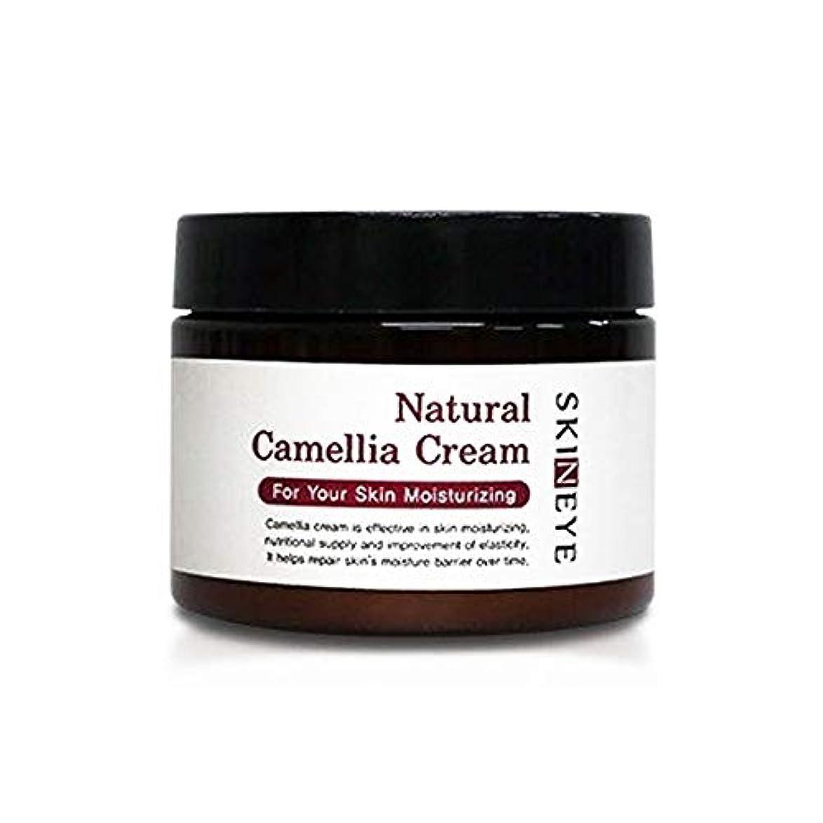 スキンアイナチュラル?発効、椿、クリーム100ml保湿クリーム、Skineye Natural Camellia Cream 100mlMoisturizing Cream [並行輸入品]