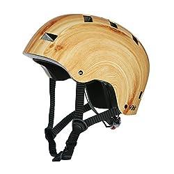Vihir スポーツヘルメット スケートボード アイススケート 自転車 登山 クライミング 保護用ヘルメット サイズ調整可能 子供大人兼用 全3色