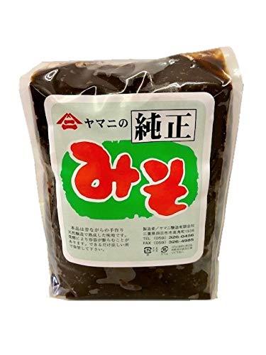 赤味噌 国内産丸大豆(豆味噌) 手作り天然醸造・無添加醗酵