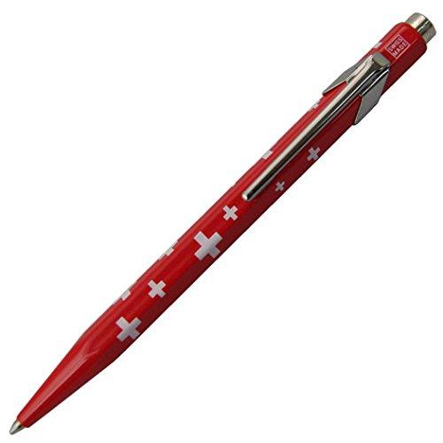 カランダッシュ ボールペン 油性 849コレクション スイスフラッグ 0849-253 正規輸入品