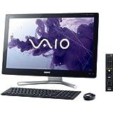 ソニー(VAIO) VAIO Lシリーズ119 W7H64/Ci7/24Full HD/タッチ/3D/8G/BD/2T/Office/TV/ブラック SVL24119FJB