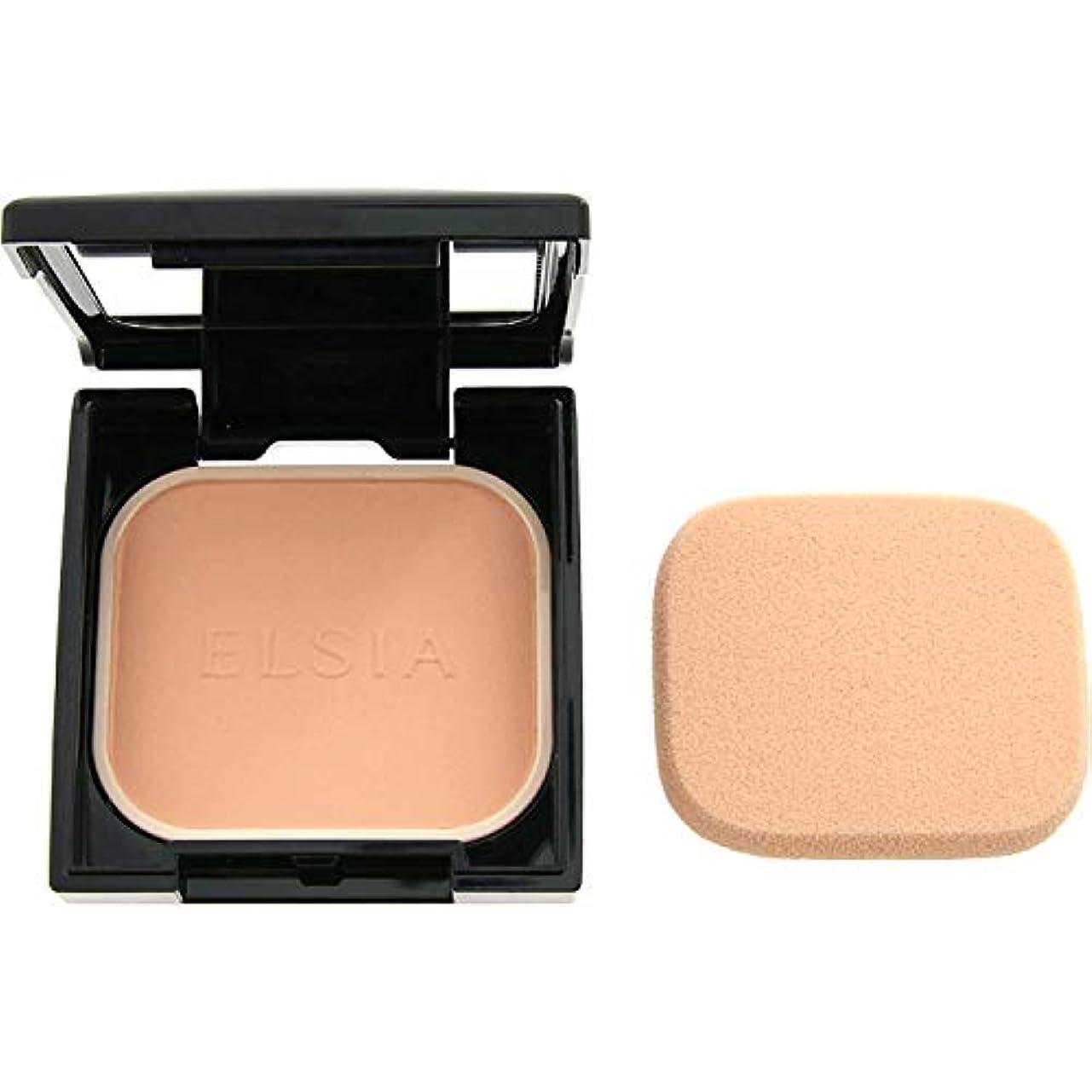 偶然の邪魔するトライアスリートエルシア プラチナム 化粧のり良好 モイストファンデーション ピンクオークル 205 9.3g