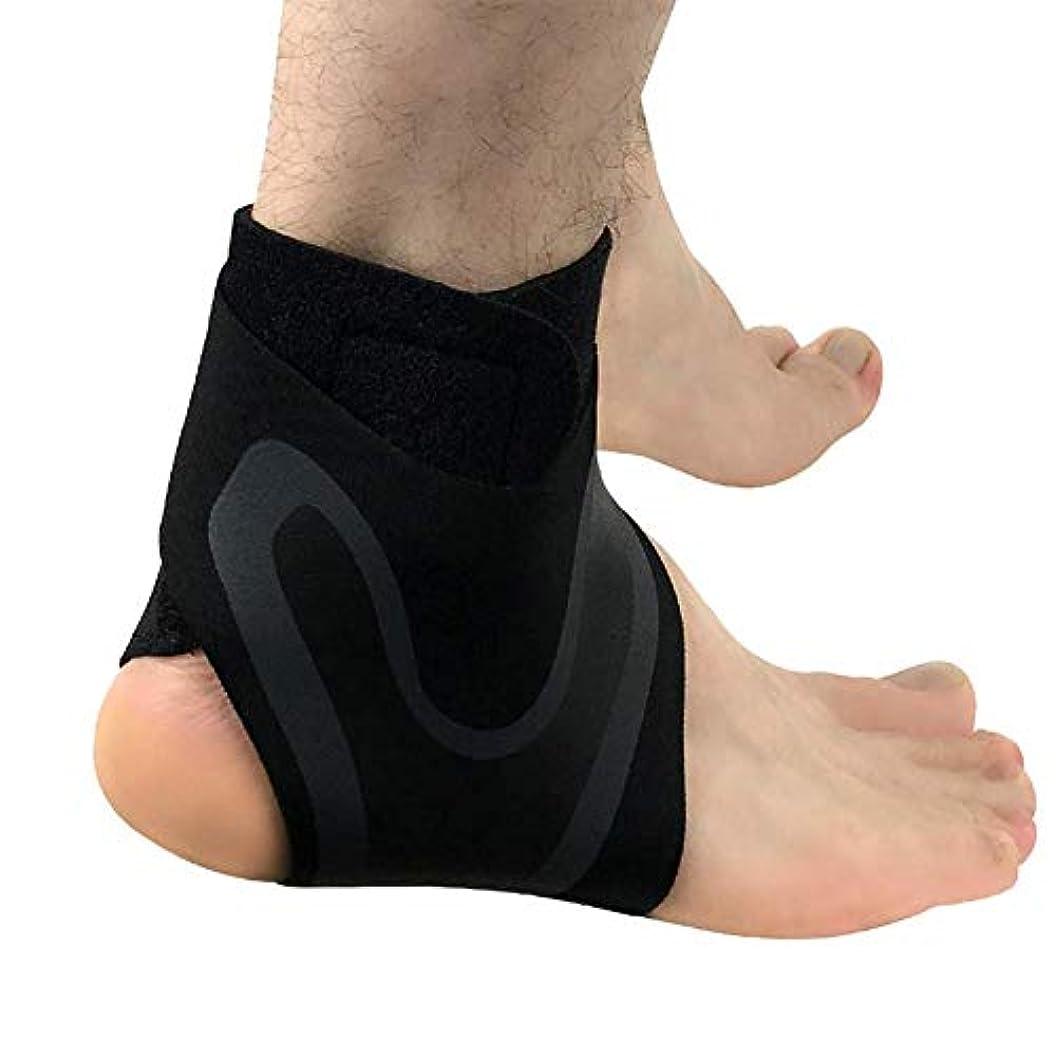 JINDEN 足首サポート、関節炎のための圧縮ブレース、疼痛緩和、捻挫、スポーツ傷害および回復、フットブレースプロテクター