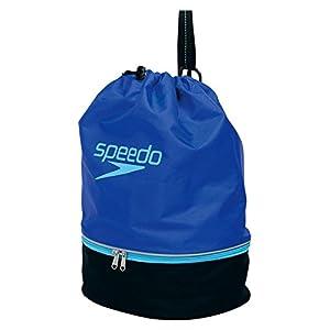 Speedo(スピード) プールバッグ SD95B04 ブルー×ブラック