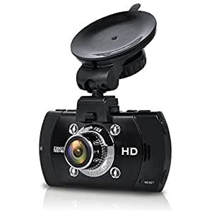E-PRANCE® GPS搭載 2.7インチ フルHD 1296P 超高画質 400万画像 B47FS ドライブレコーダー Ambarella A7LA70 + 広角170度 + 夜間撮影可能(IR暗視機能付き)+軌跡記録可能「並行輸入品」